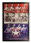TNA - No Surrender 2012 PPV Framed Signed Poster *Signed by 12*