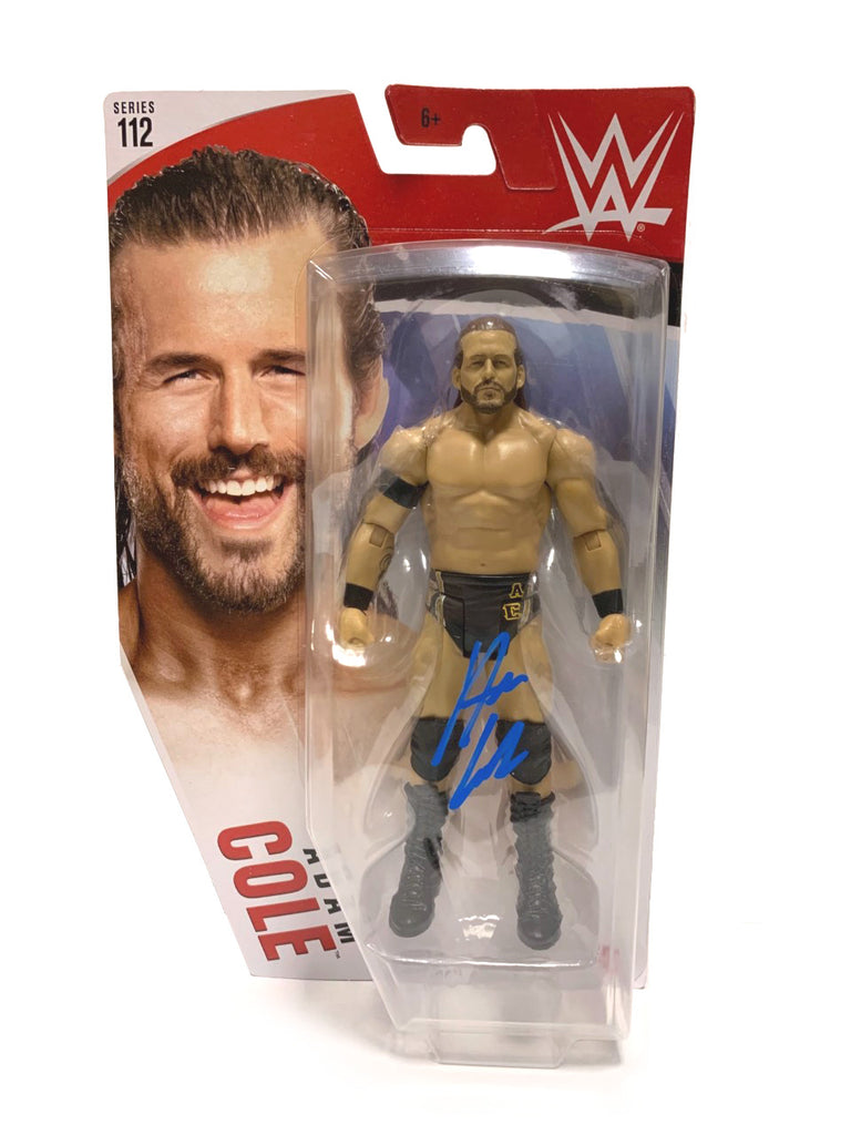 WWE - Basic Series 112 Adam Cole Action Figure * Hand Signed *