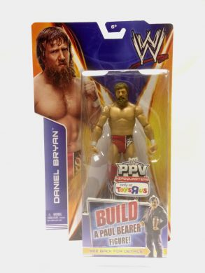 WWE Basic Best of PPV 2014: Extreme Rules Daniel Bryan (Build a Paul Bearer Figure)