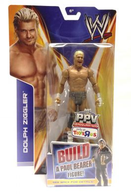 WWE Basic Best of PPV 2014: Payback Dolph Ziggler (Build a Paul Bearer Figure)
