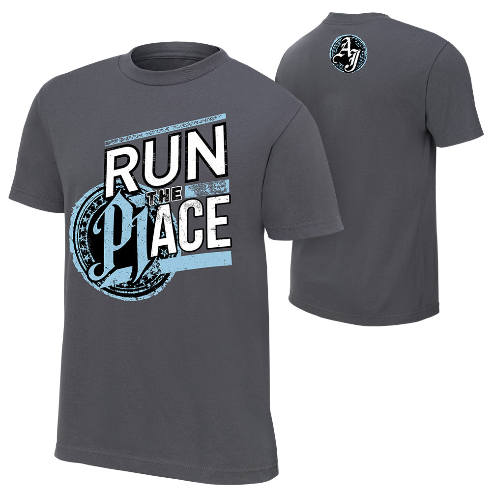 "WWE - AJ Styles ""Run The Place"" Special Edition T-Shirt"