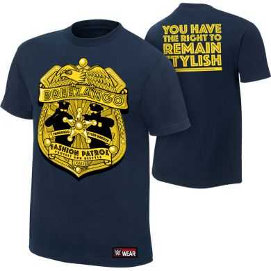 "WWE - Breezango ""Fashion Patrol"" Authentic T-Shirt"