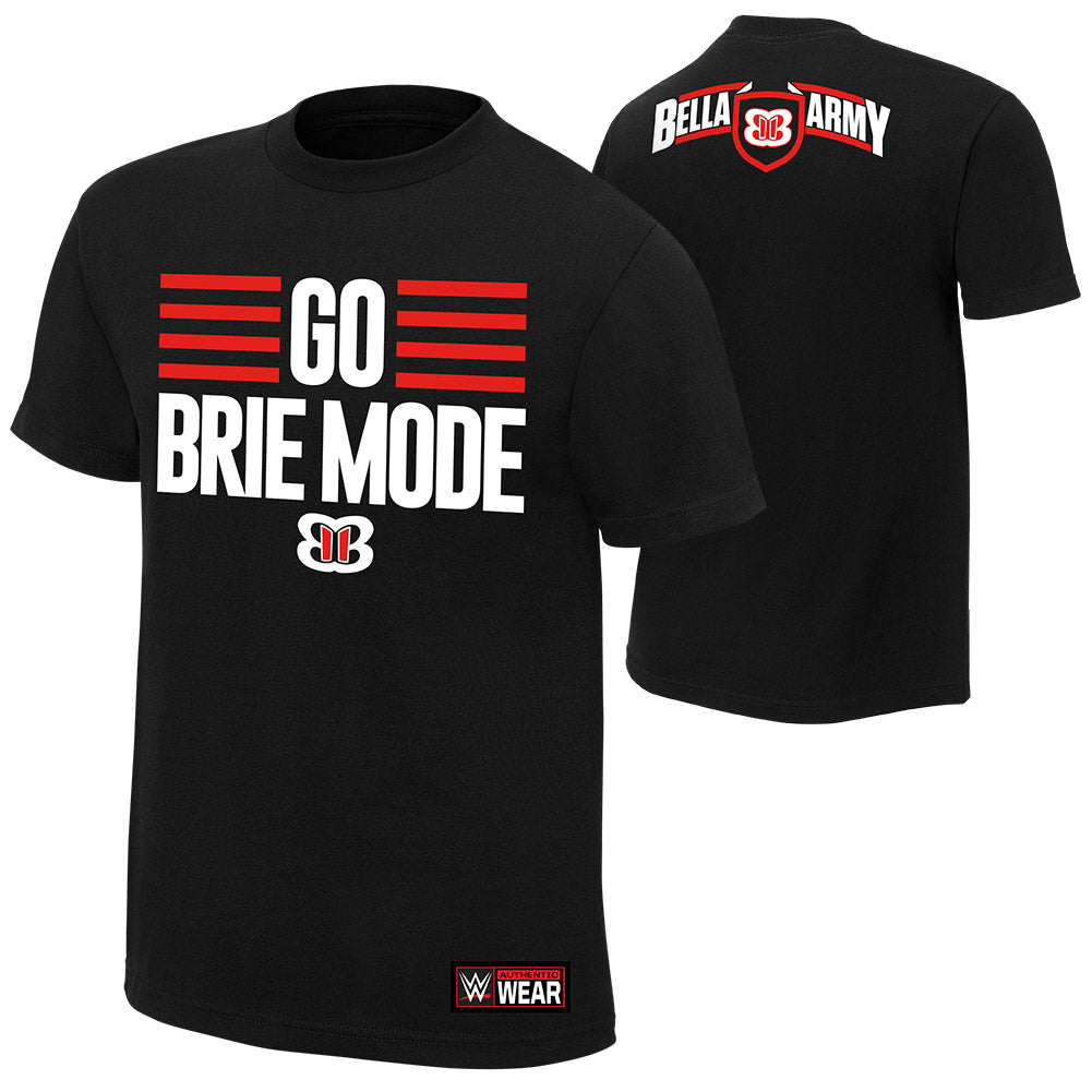 "WWE - Brie Bella ""Go Brie Mode"" Authentic T-Shirt"