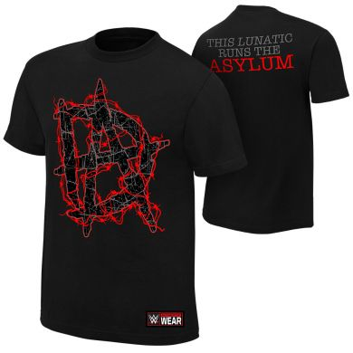 "WWE - Dean Ambrose ""This Lunatic Runs the Asylum"" Authentic T-Shirt"