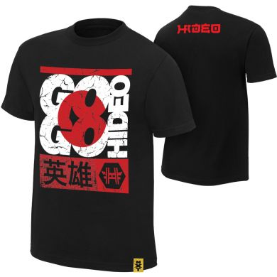 "WWE - Hideo Itami ""Go Go Hideo"" Authentic T-Shirt"