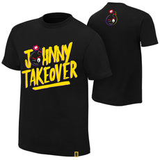 "WWE - Johnny Gargano ""Johnny Takeover"" Authentic T-Shirt"