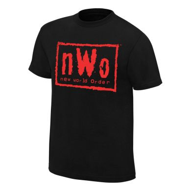 "WWE - NWO ""Wolfpac Red"" Retro T-Shirt"