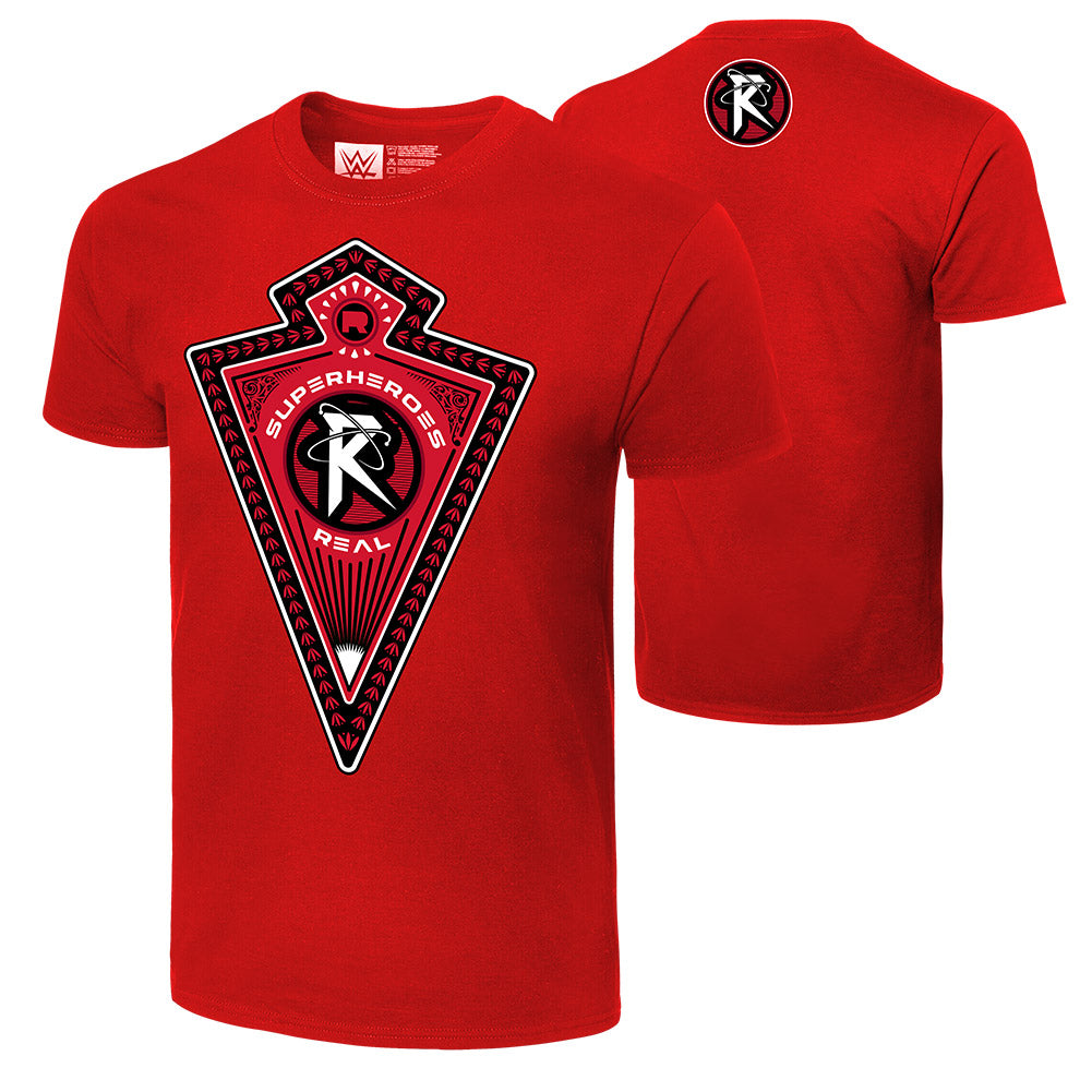 "WWE - Ricochet ""Superheroes R Real"" Authentic T-Shirt"