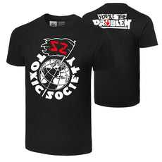"WWE - Sami Zayn ""Toxic Society"" Authentic T-Shirt"