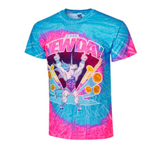 "WWE - The New Day ""Pancake Unicorn"" Tie Dye T-Shirt"