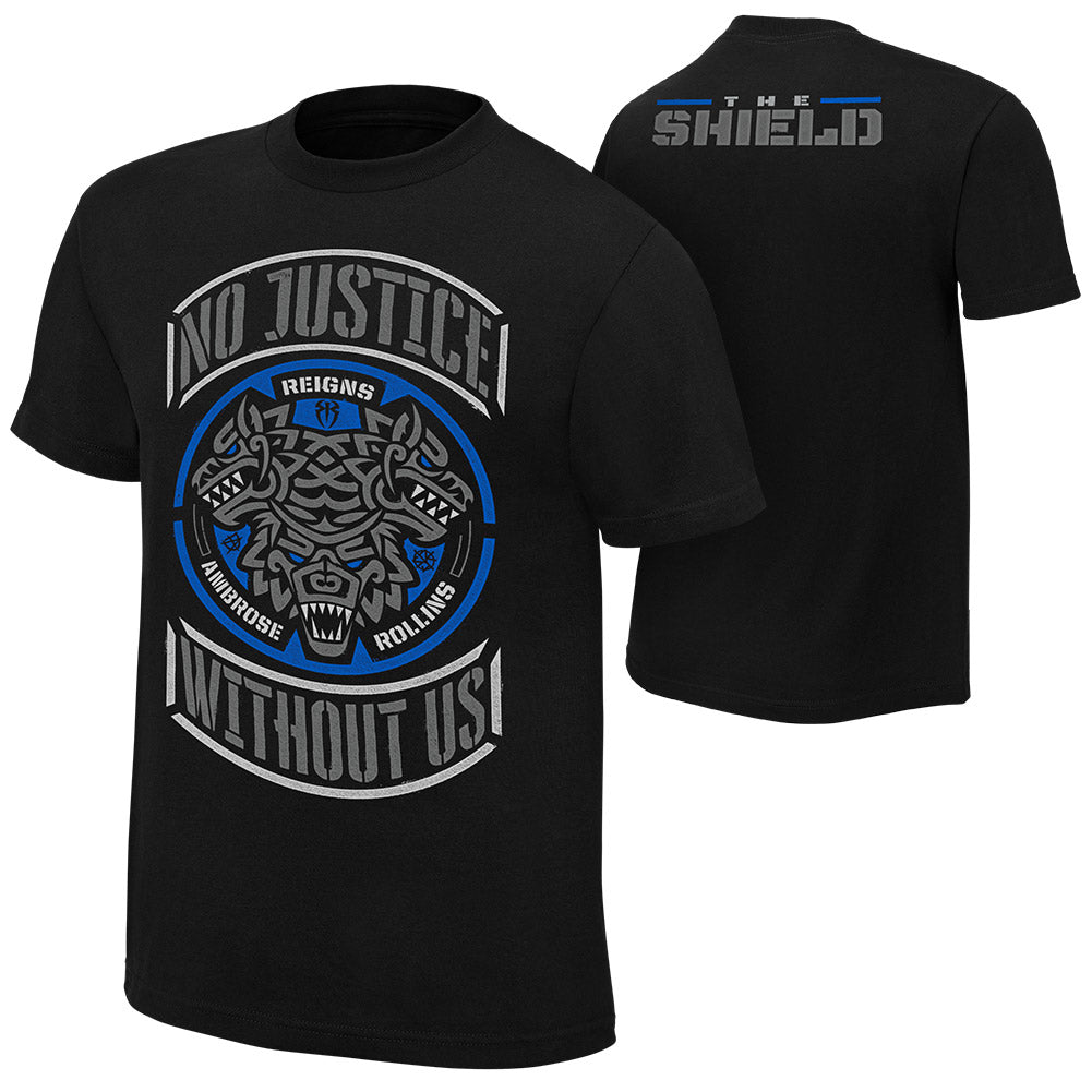 "WWE - The Shield ""No Justice Without Us"" Special Edition T-Shirt"