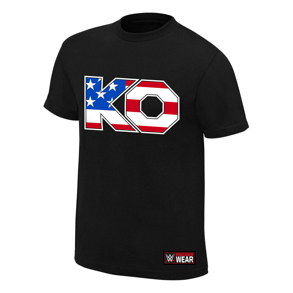 "WWE - Kevin Owens ""The New Face of America"" Authentic T-Shirt"
