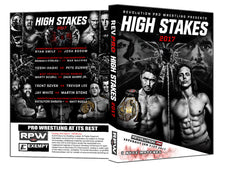 RPW - High Stakes 2017 Event DVD
