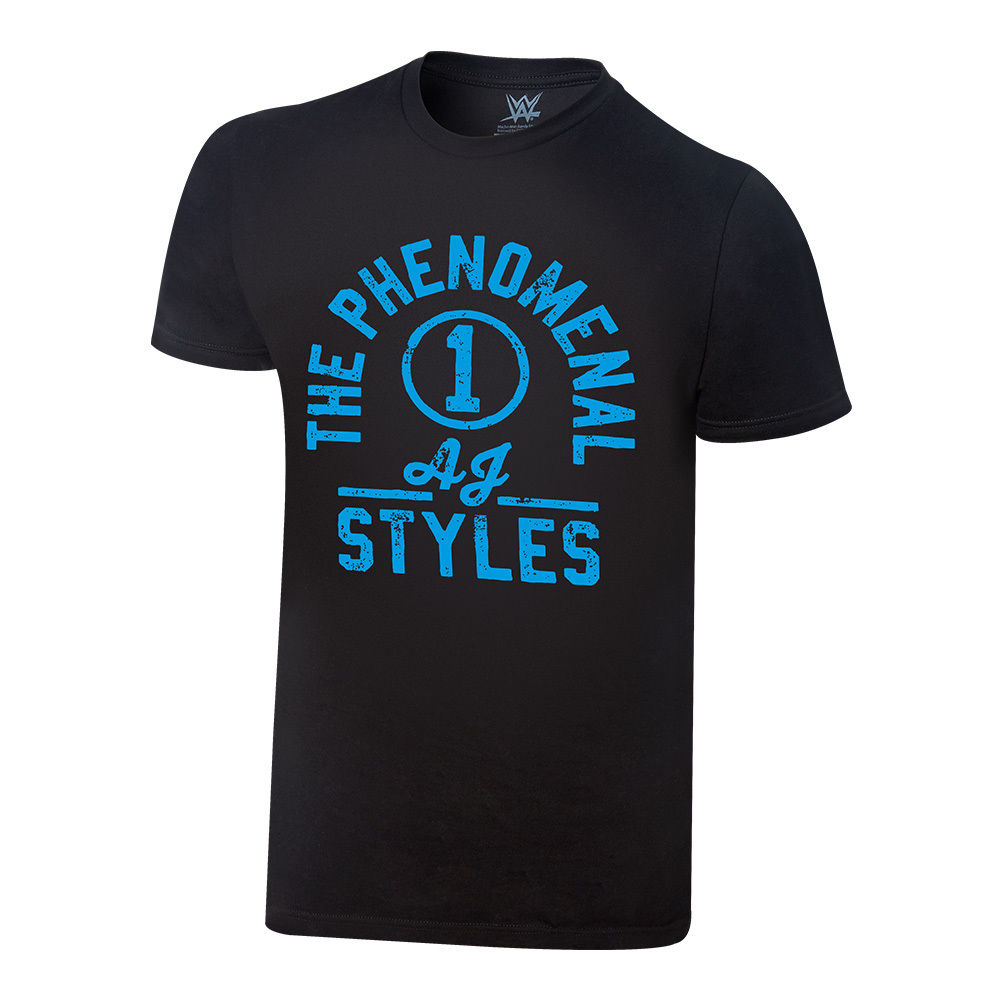 "WWE - AJ Styles ""The Phenomenal One"" Vintage T-Shirt"