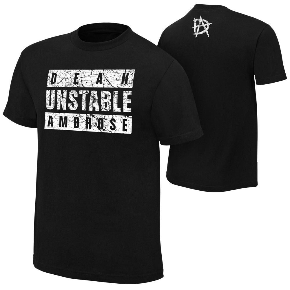 "WWE - Dean Ambrose ""Unstable Ambrose"" Authentic T-Shirt"
