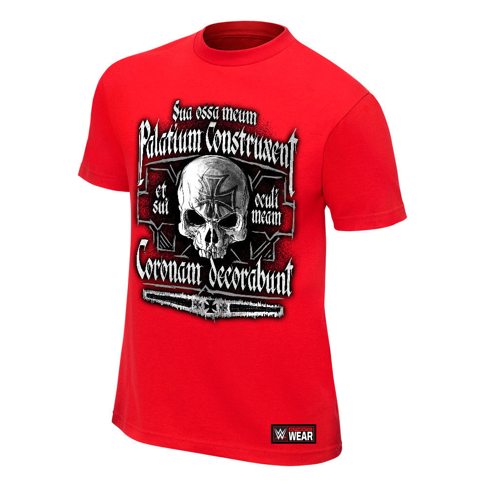 "WWE - Triple H ""Crimson King"" Red Authentic T-Shirt"