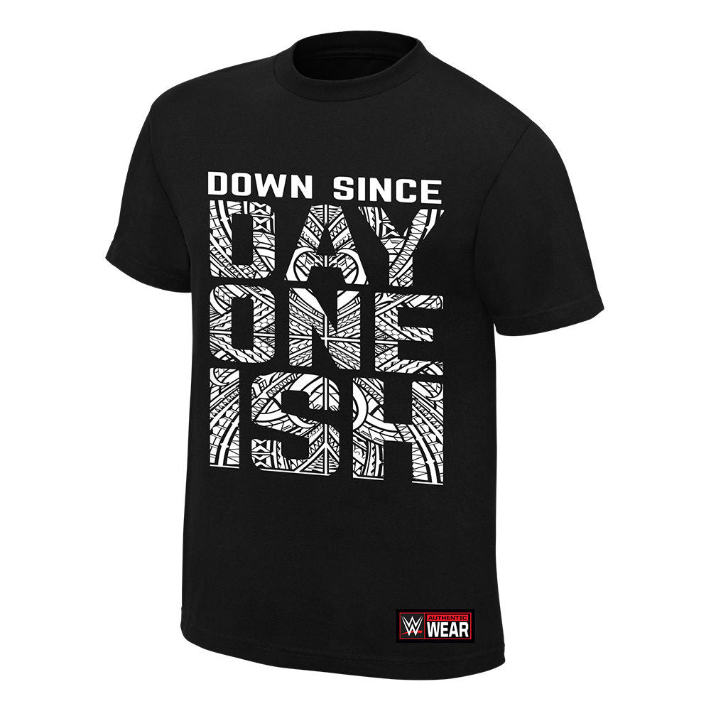 "WWE - The Usos ""Down Since Day One Ish"" Authentic T-Shirt"