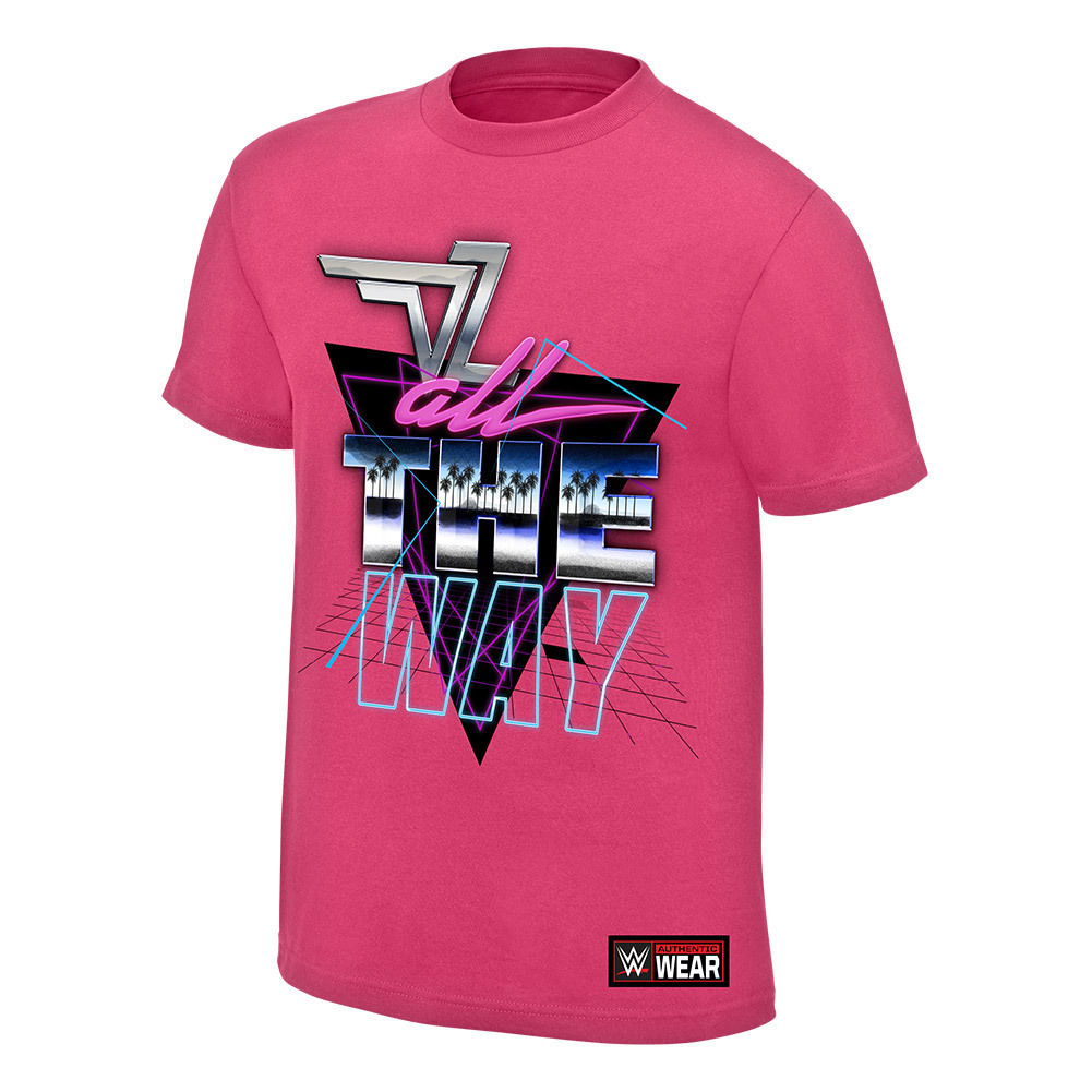 "WWE - Dolph Ziggler ""All The Way"" Authentic T-Shirt"