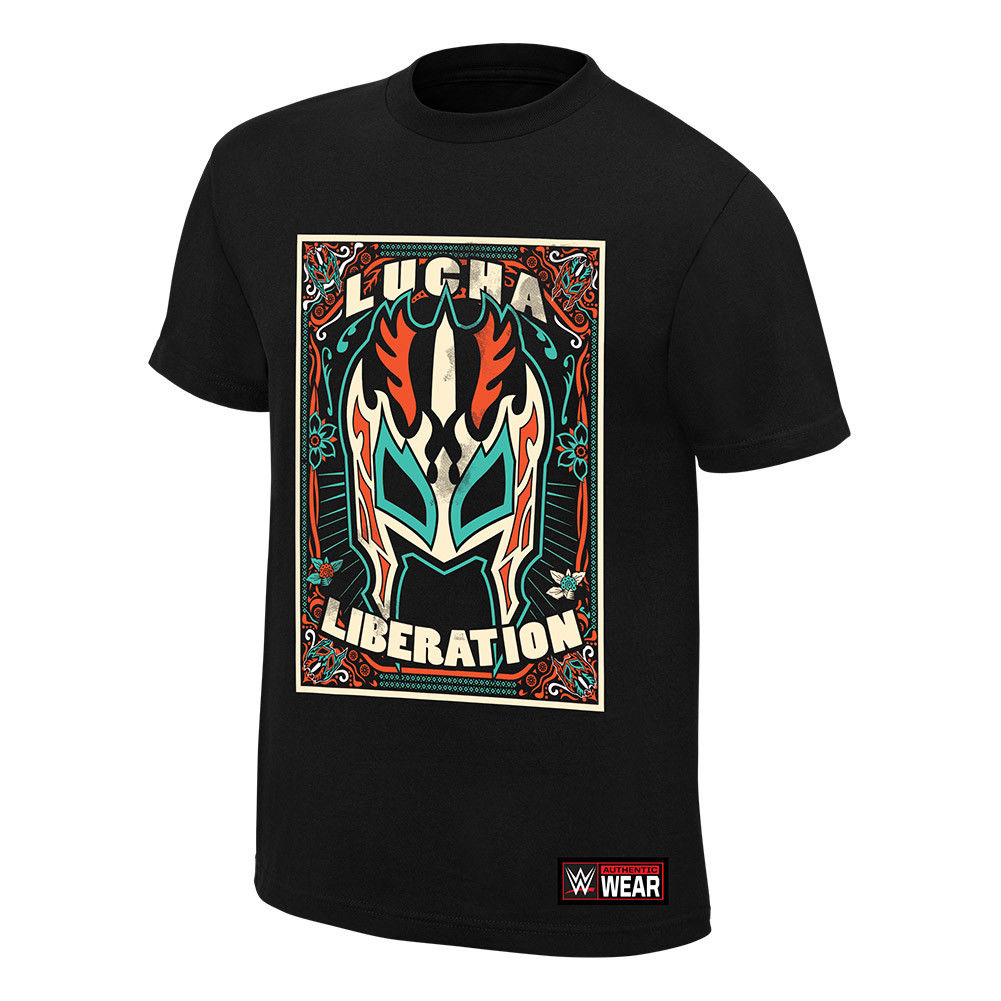 "WWE - Kalisto ""Lucha Liberation"" Authentic T-Shirt"