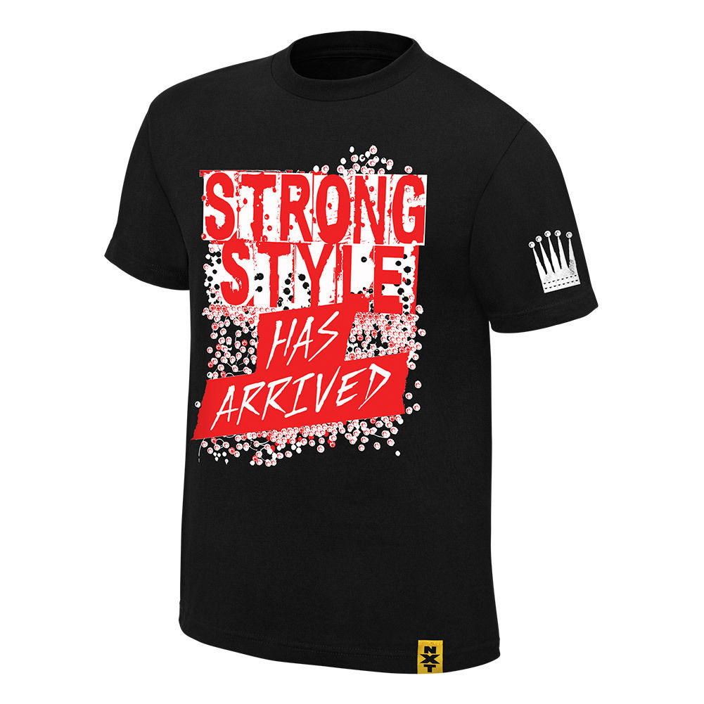 "WWE NXT - Shinsuke Nakamura ""Strong Style Has Arrived"" Black Authentic T-Shirt"
