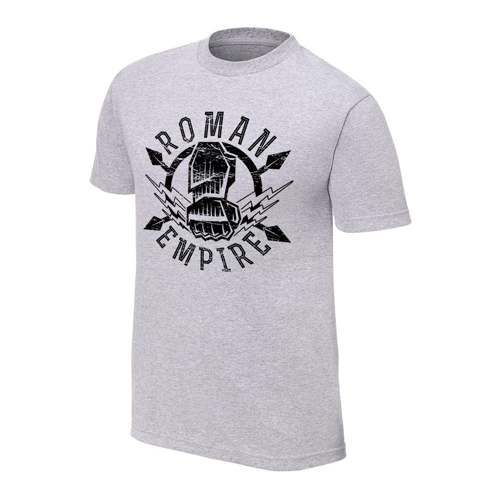 "WWE - Roman Reigns ""Roman Empire"" Special Edition Grey T-Shirt"