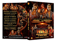 NJPW - Wrestle Kingdom 9 (2 Disc DVD Set)