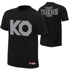 "WWE - Kevin Owens ""KO Fight"" Authentic T-Shirt"