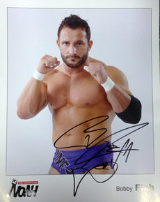 Noah - Signed 8x10 - Bobby Fish