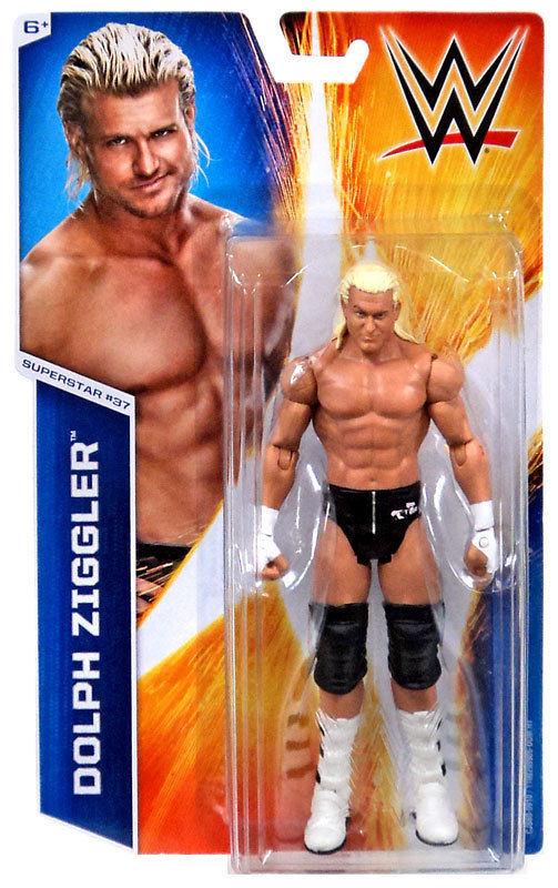 WWE - Basic Series 51 Dolph Ziggler #37 Figure