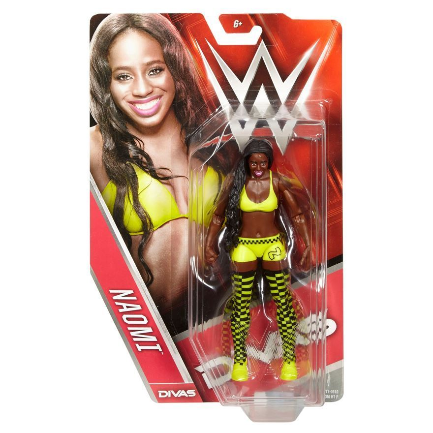 WWE - Basic Series 56 Divas Naomi Figure