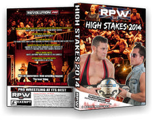RPW - High Stakes 2014 Event DVD (Sting, Ricochet, Dutt, Young Bucks, Cabana)