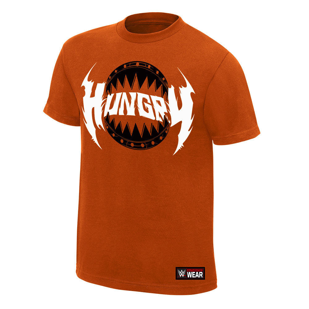 "WWE - Ryback ""Hungry"" Orange Authentic T-Shirt"