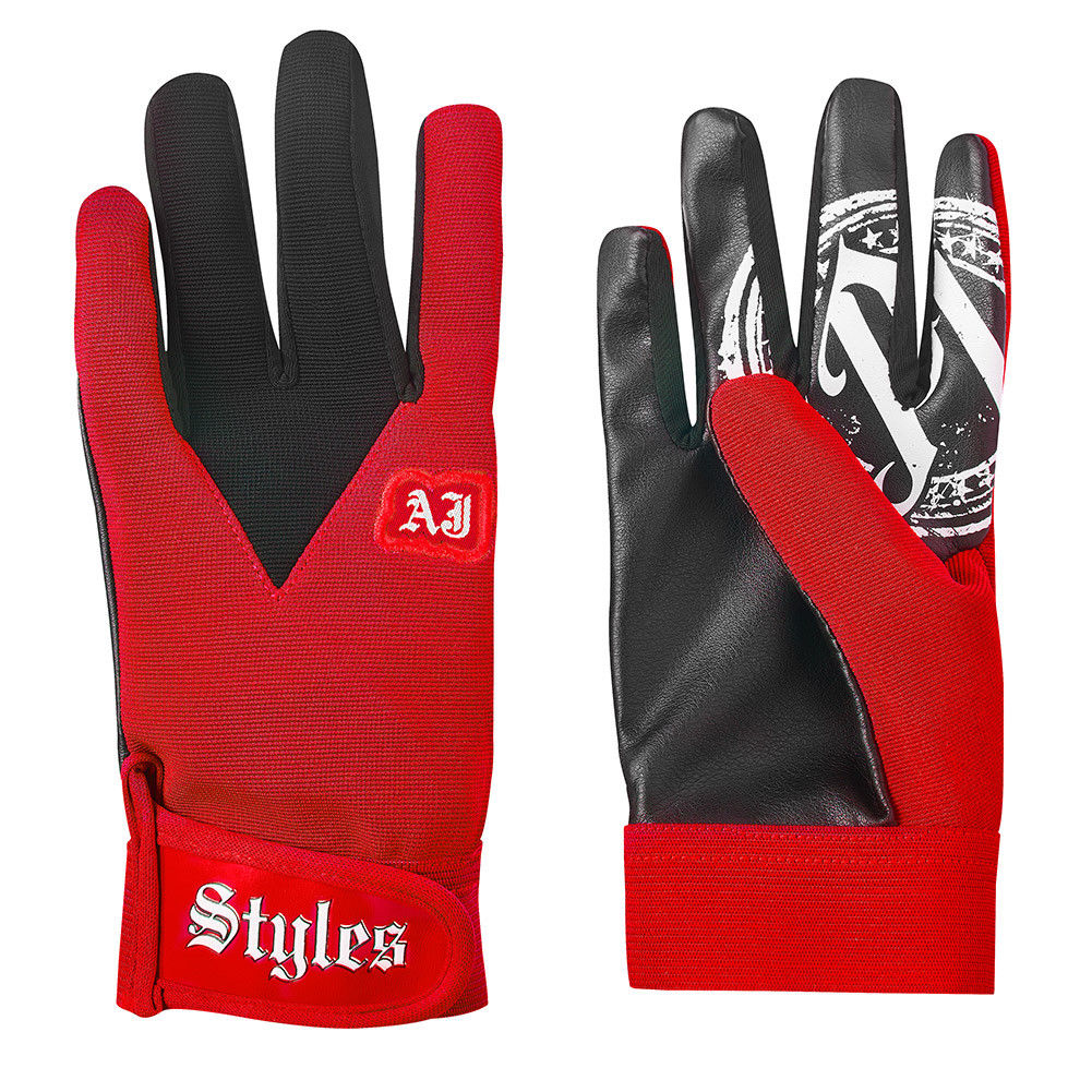 WWE - AJ Styles Red Replica Gloves