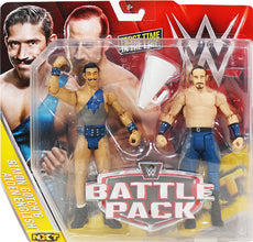 WWE - Battle Packs Series 41 - The Vaudevillains Aiden English & Simon Gotch Figures