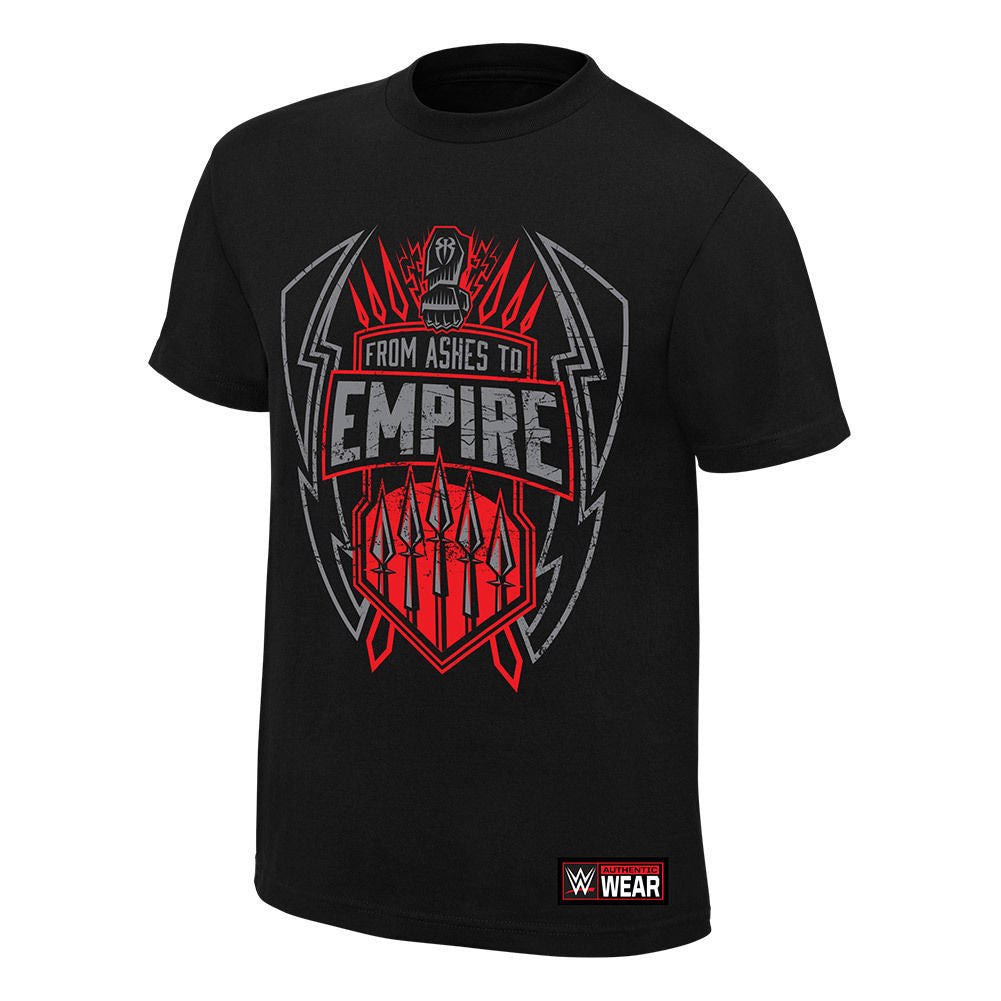"WWE - Roman Reigns ""From Ashes to Empire"" Authentic T-Shirt"