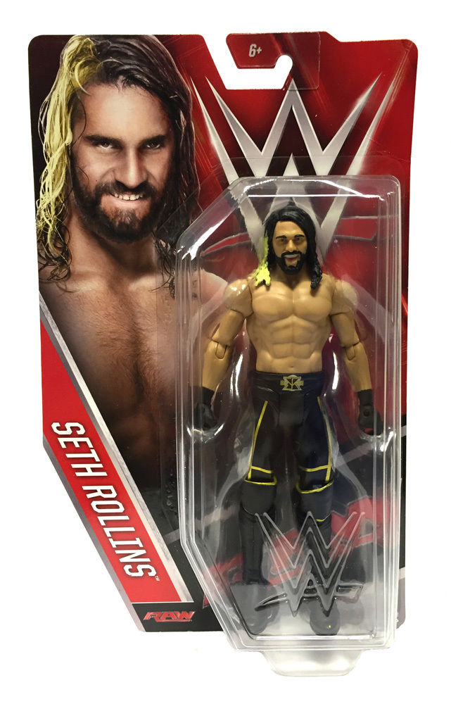 WWE Basic Series 60 Raw Seth Rollins Figure