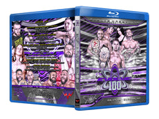 Evolve Wrestling - Volume 100 Event Blu Ray