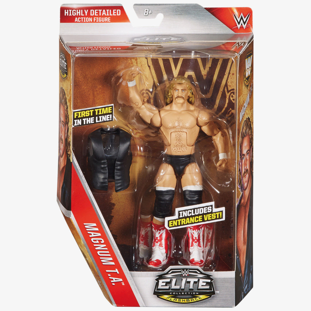 WWE - Elite Flashback Series Magnum T.A. Figure