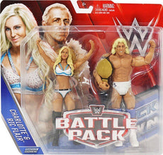 WWE - Battle Packs Series 41 Charlotte & Ric Flair Figures
