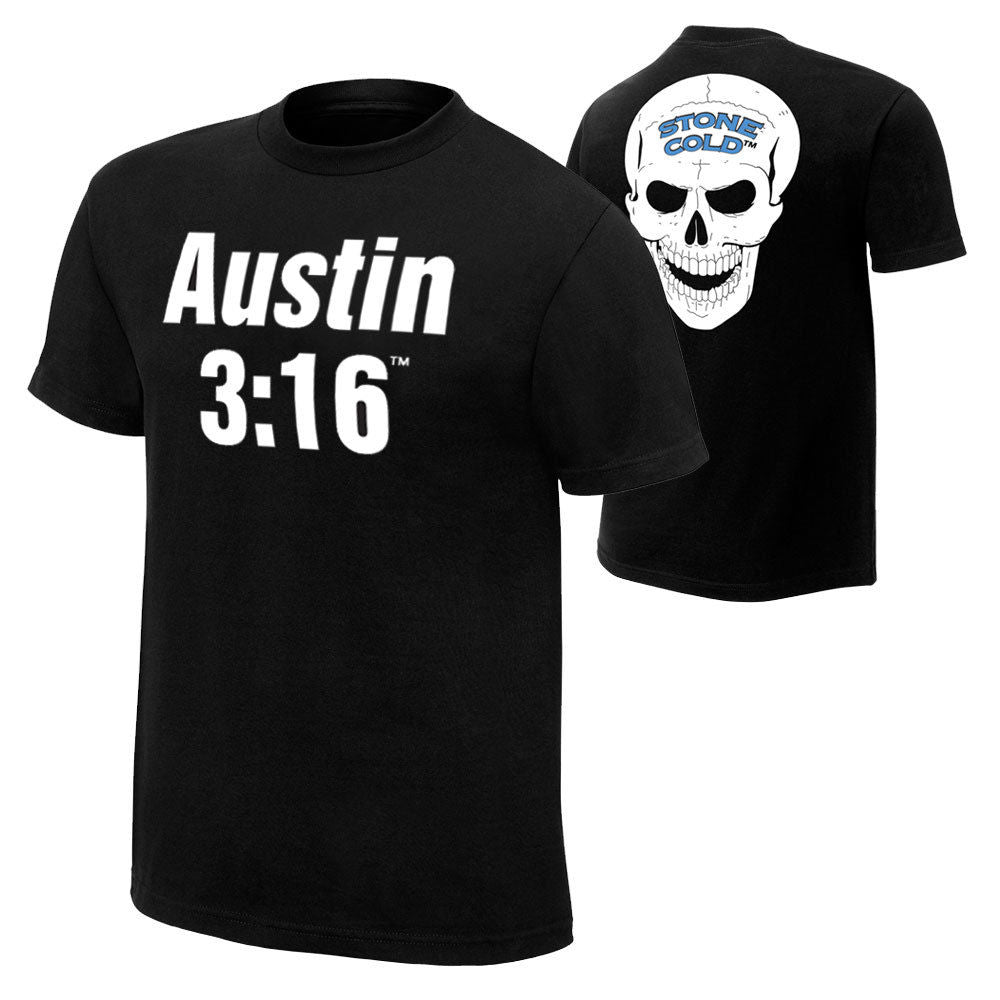 "WWE - Stone Cold Steve Austin ""Austin 3:16 Retro"" Authentic T-Shirt"