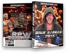 RPW - High Stakes 2015 Event DVD (AJ Styles, The Addiction, Rocky Romero)