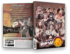 RPW & NJPW - Global Wars UK 2015 DVD