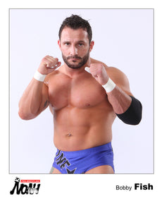 Pro Wrestling Noah Bobby Fish - Exclusive 2011 8x10