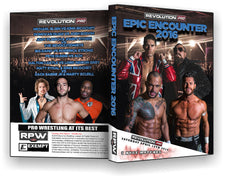 RPW - Epic Encounter 2016 16/04/16 DVD ( Pre-Owned )