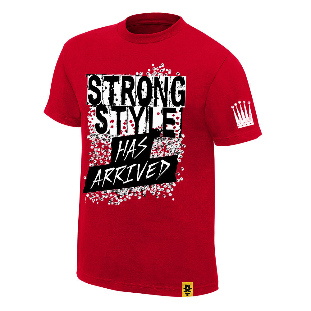 "WWE NXT - Shinsuke Nakamura ""Strong Style Has Arrived"" Authentic T-Shirt"