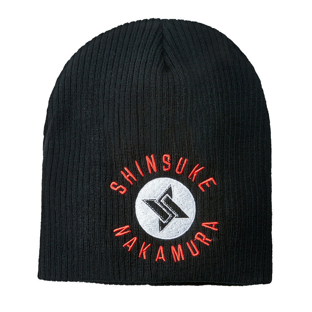 "WWE - Shinsuke Nakamura ""The Artist Known As"" Beanie Hat / Skull Cap"