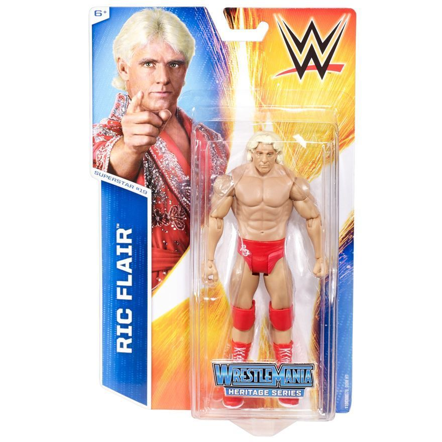 WWE - Basic Series 48 Ric Flair #19 Figure