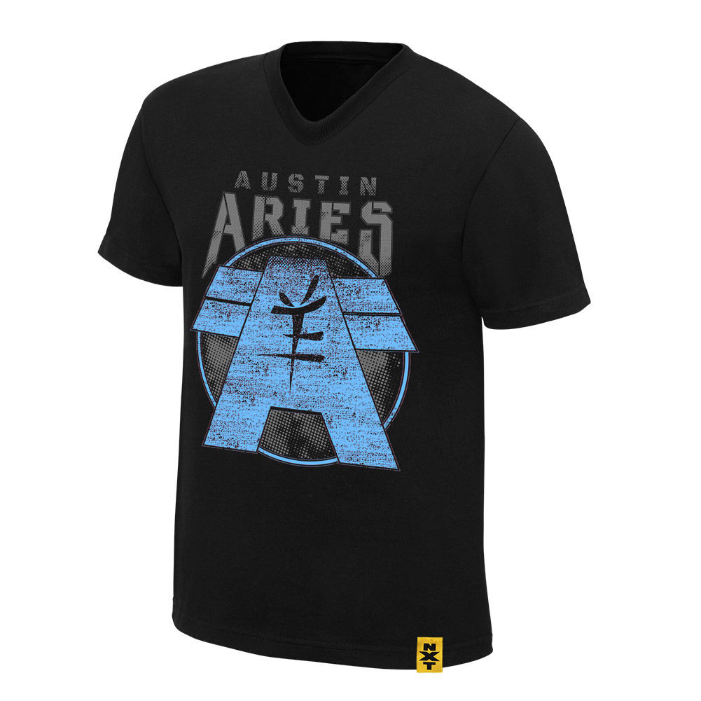 "WWE - Austin Aries ""Ambition and Vision"" Authentic T-Shirt"