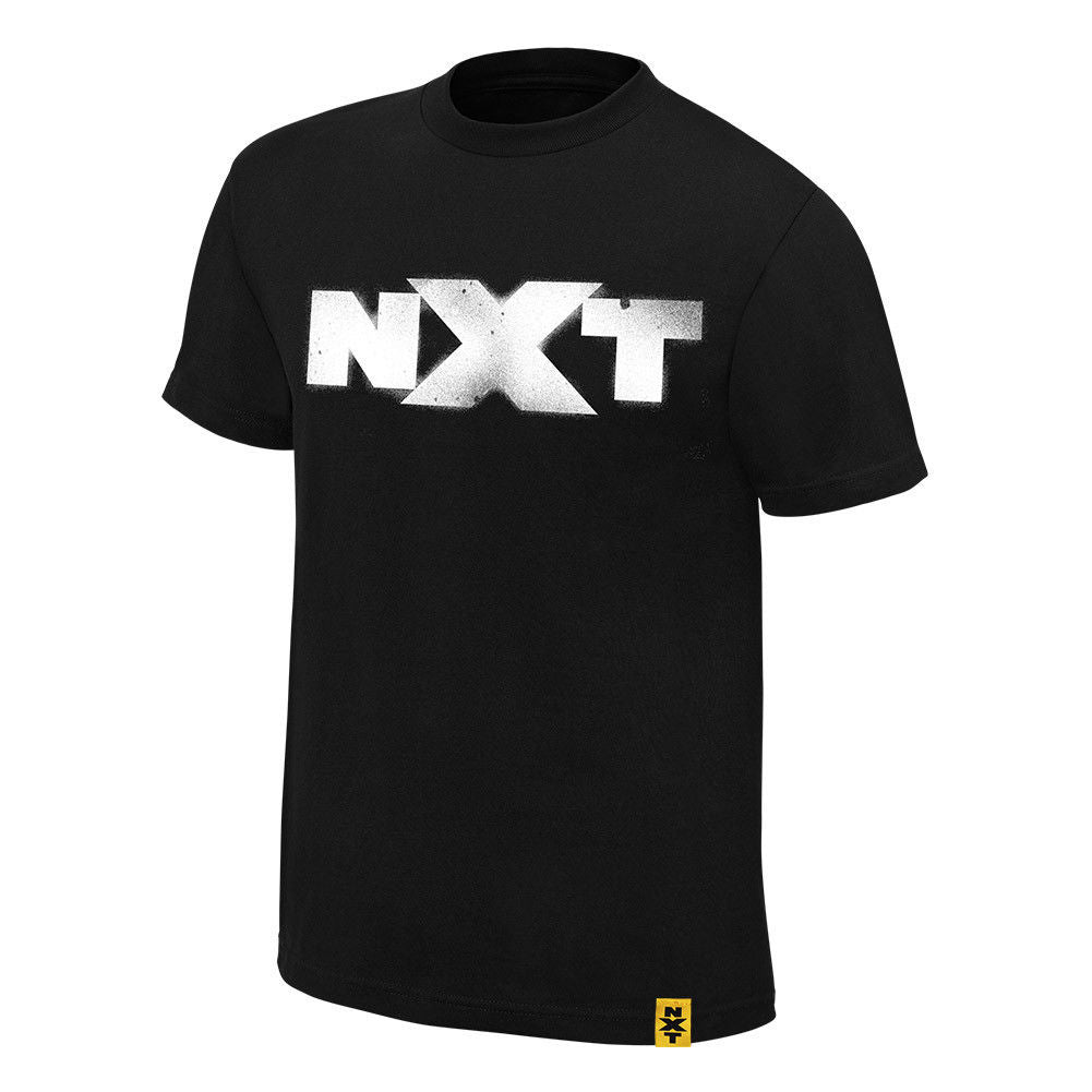 "WWE - NXT ""We are NXT"" Spraypaint Black T-Shirt"