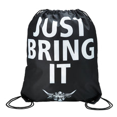 "WWE - The Rock ""Just Bring It"" 17.5"" x 15"" Drawstring Bag"